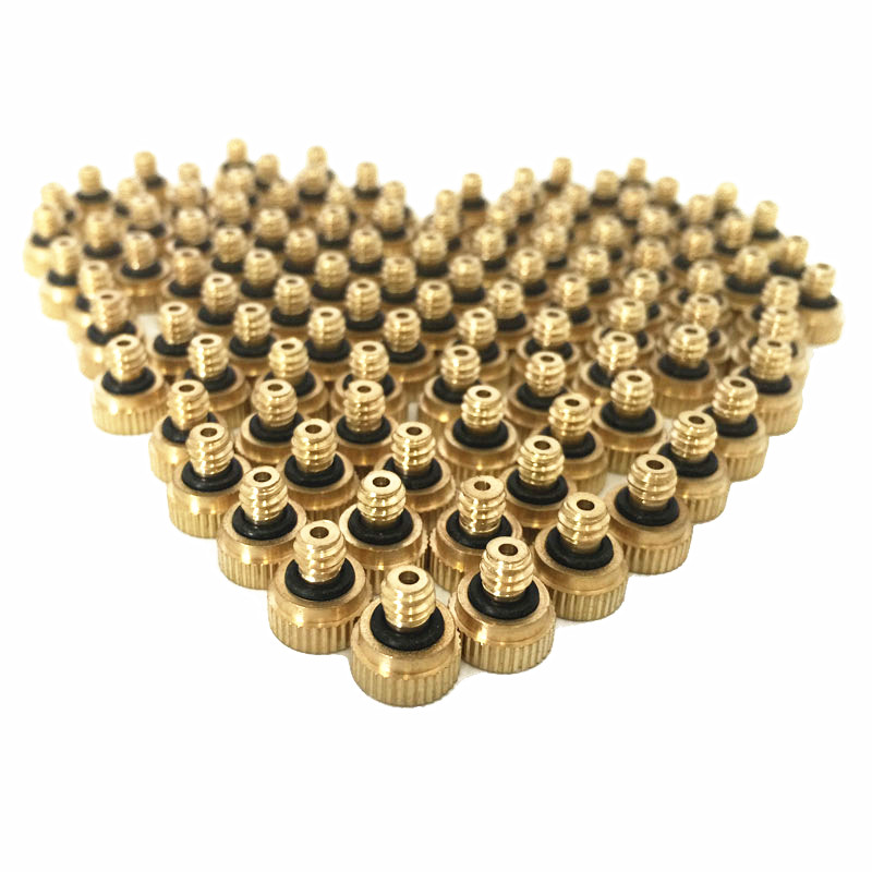 Sprayers 22pcs/pack 0.4mm Orifice Thread 10/24 Unc Low Pressure Misting Fog Nozzle Back To Search Resultshome & Garden