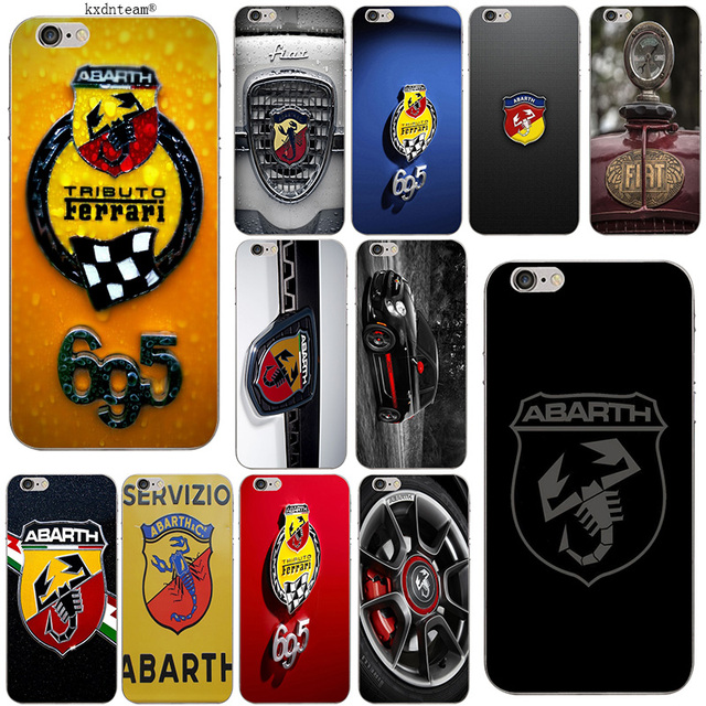 info for b931f 50160 US $1.99  Fiat Abarth Logo Soft TPU Silicon Phone Cases Slim Transparent  Cover for iPhone 8 7 6 6S Plus X 5 5S SE 5C 4 Shell Coque Fundas-in ...