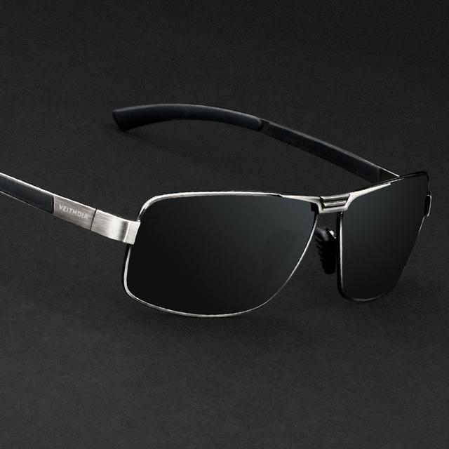 VEITHDIA ÓCULOS de Lente Polarizada Óculos De Sol Óculos de Motorista de Condução Óculos De Sol De Pesca Dos Homens Ao Ar Livre Esportes Eyewear Acessórios Para Homens 2490