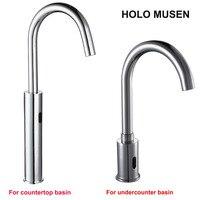 Touchless Quality Brass Chrome Sensor Tap Water Saving Automatic Sensor Faucet Bathroom Basin Faucet Sensor