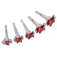 цена на 15-35mm Auger Drill Bit Wooden Cutter Hex Wrench Woodworking Hole Opener Saw Woodwork Core Milling Cutter Hinge Hand Tools