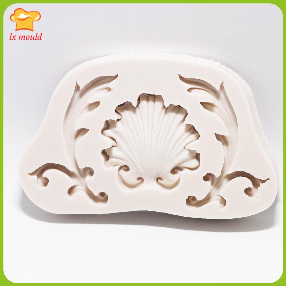lxyy nuevo estilo barroco patrn de molde decoracin de la torta del molde de silicona de