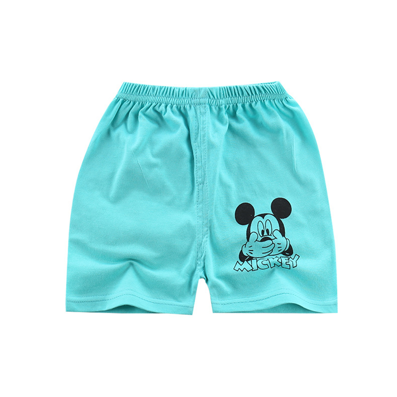 Summer Cotton cartoon mickey boy Shorts kids shorts for girls spiderman Beach Shorts baby boy clothes children clothing for 1-7T