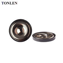 TONLEN 2PCS HIFI 50mm 32ohm Headpnone Speaker Horn Full Range Moving Coil DIY Portable Subwoofer Wireless Bluetooth Headphone