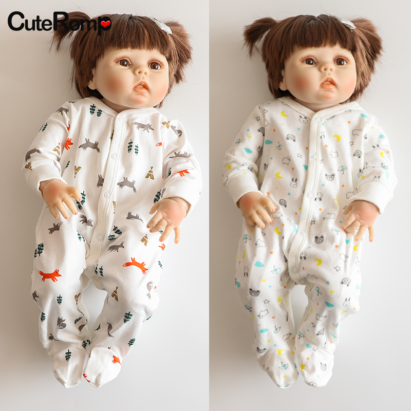 0 3M new born Bunny Baby girl clothes Animal boy costume Infant neonato footies for girls newborn clothes fox baby onesie in Footies from Mother Kids