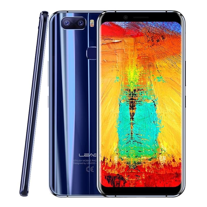 "Original Leagoo S8 Pro LTE 4G Mobile Phone Android 7.0 P25 Octa Core 5.99""IPS 4GB RAM 13MP Dual Rear Cameras ROM 64GB Smartphone"
