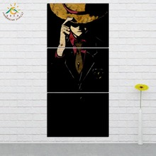 Anime One Piece The King Of Sea Wall Art HD Prints Canvas Painting Modular Picture  3 PIECES