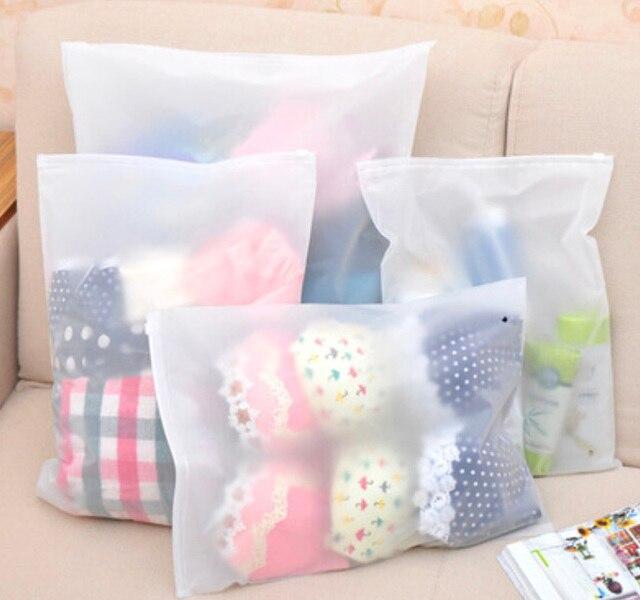 Saco de armazenamento diário, pode colocar meias e roupas à prova d' água bolsa de viagem saco de roupa interior, 20x28 cm/10 pcs