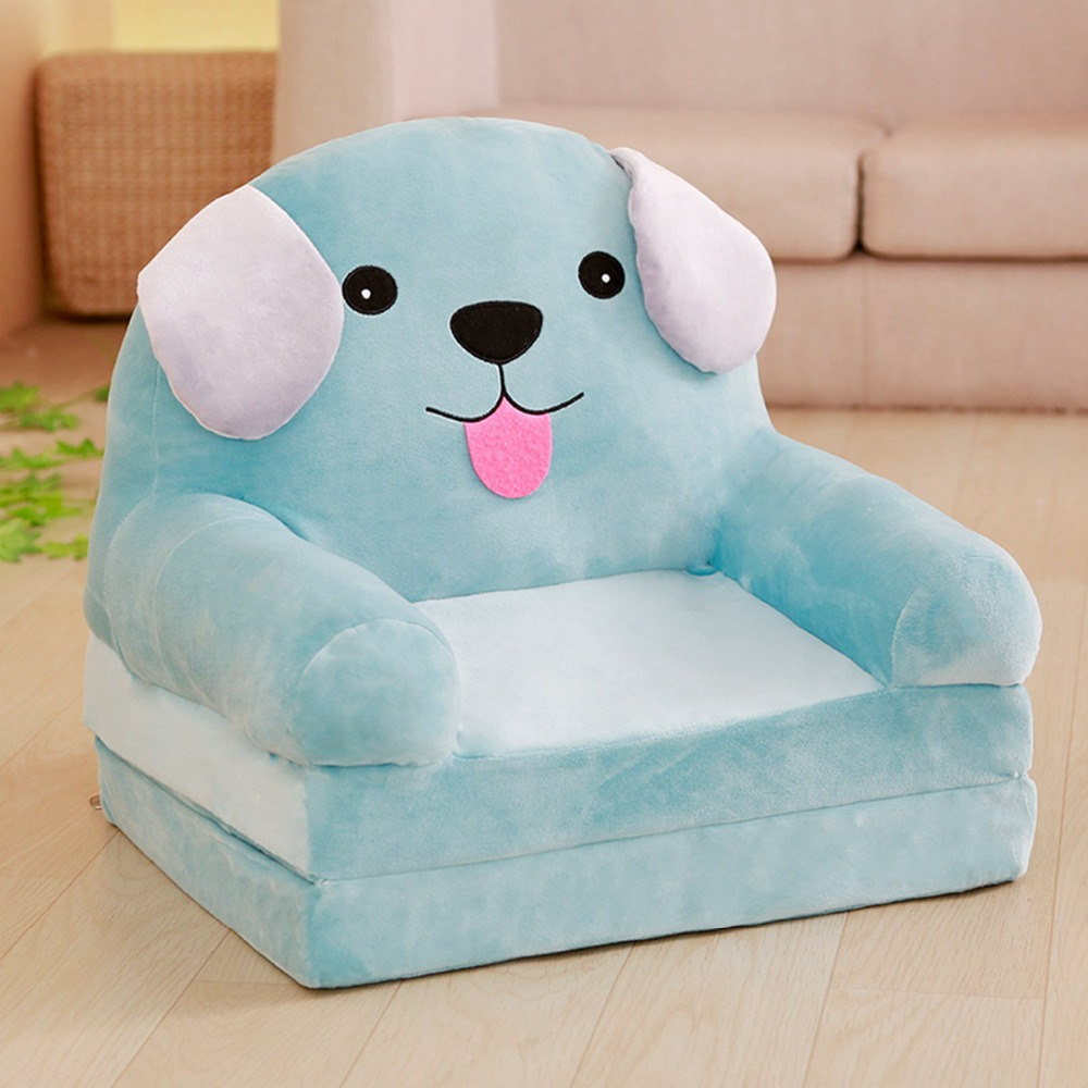 Baby Children Sofa Cartoon Children Chair Cute Foldable Portable