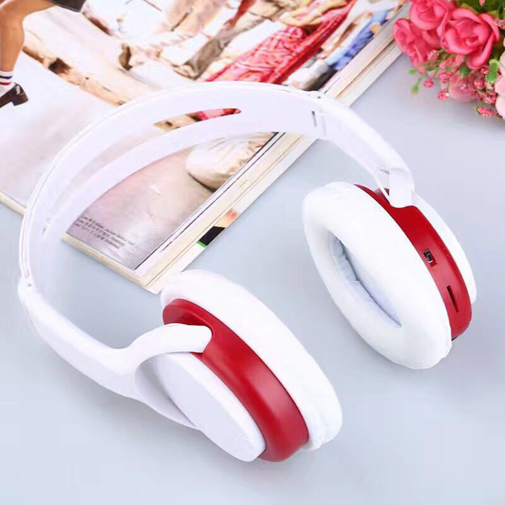 Wireless FM Radio Headphones Headset Noise Cancelling Earphone And FM Radio O.31 5