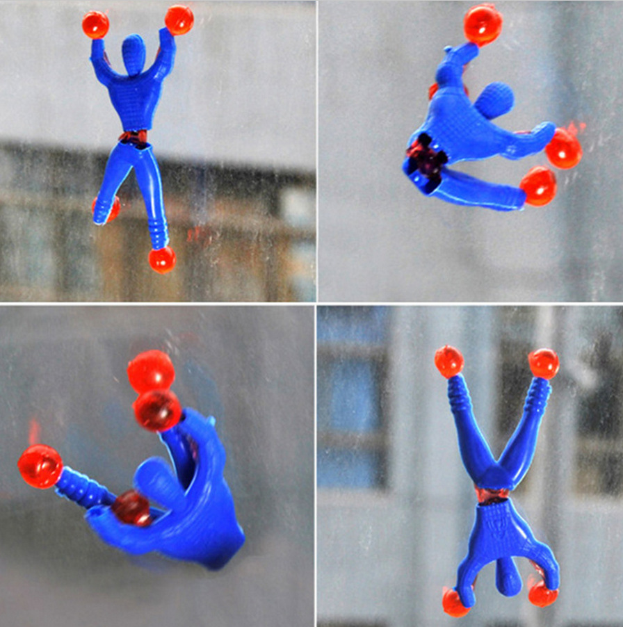 Nostalgic Small Toys Climbing Spider - Man Climbing Creative Sticky Spider - Man Wholesale Factory Direct