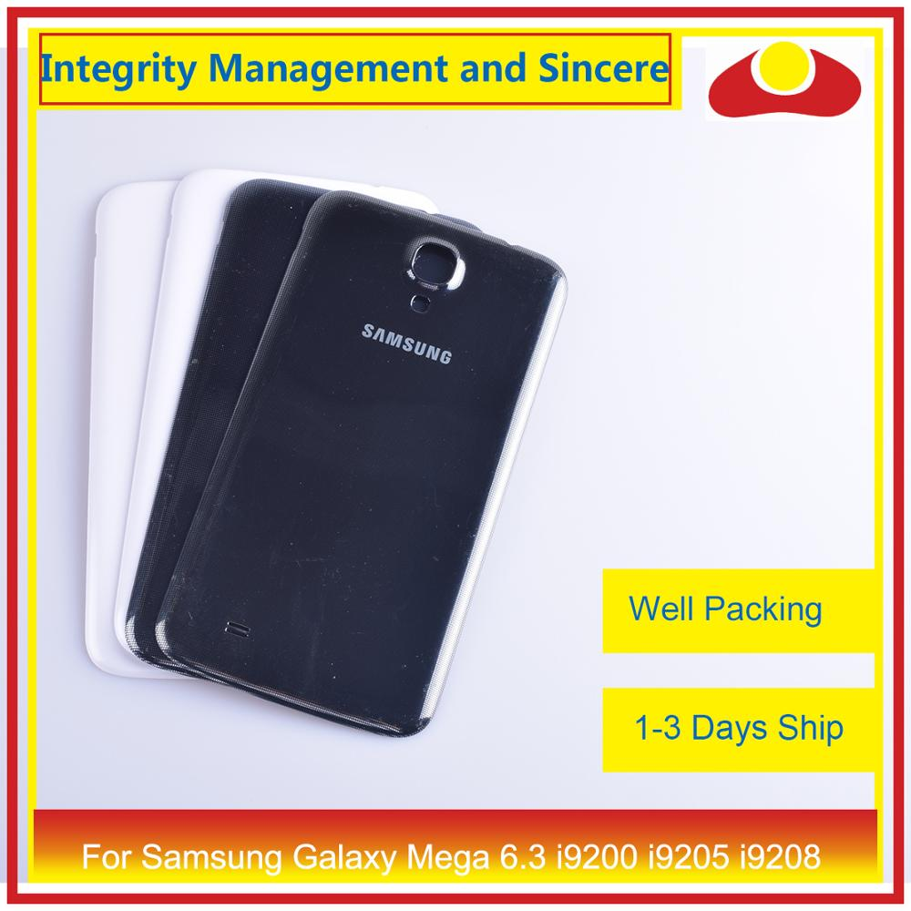 Image 2 - For Samsung Galaxy Mega 6.3 i9200 i9205 i9208 GT I9200 Housing Battery Door Rear Back Cover Case Chassis Shell Replacement-in Mobile Phone Housings & Frames from Cellphones & Telecommunications