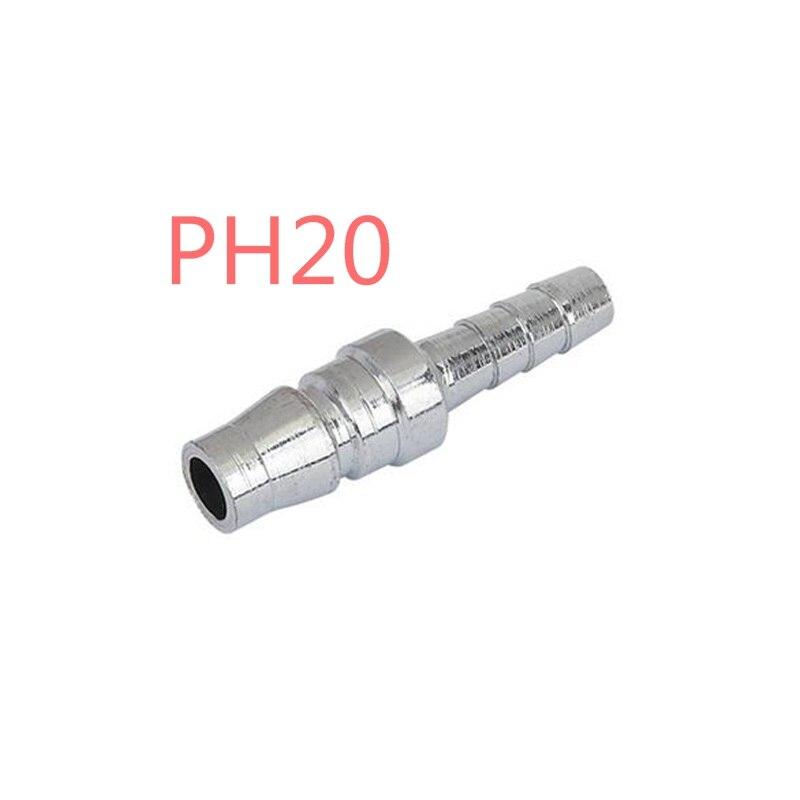 все цены на 10Pcs  PH20 Pneumatic tube quick connector C -style pagoda quick twist fitting онлайн