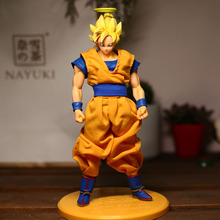 Goku with Real Clothes Figure 20CM