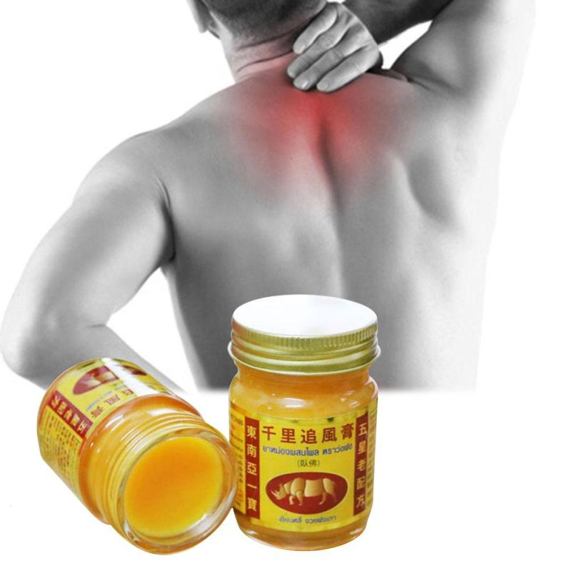 Thailand Herbal Active Analgesic Ointment Pain Back Arthritis Frozen Shoulder Pain Relief Treat Swelling Bruises Health Care U3