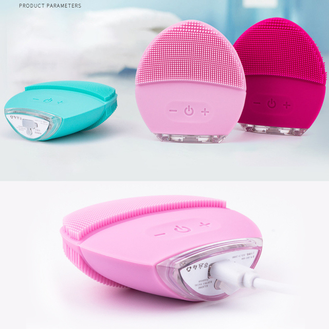 Eco-Friendly Silicone Cleansing Brush