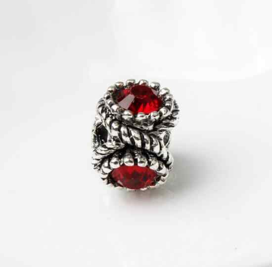 קטן הצהרת קריסטל פרח דבורה אהבת לב מפתח דחליל תוכי תליון חרוזים Fit פנדורה סגולה צמידי Femme ביצוע תכשיטים