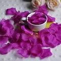 Оптовая Свадьба Лепестки Роз 3000 шт./лот Украшения Район шелковый цветы полиэстер свадебный роуз Новая Мода 2017 искусственный