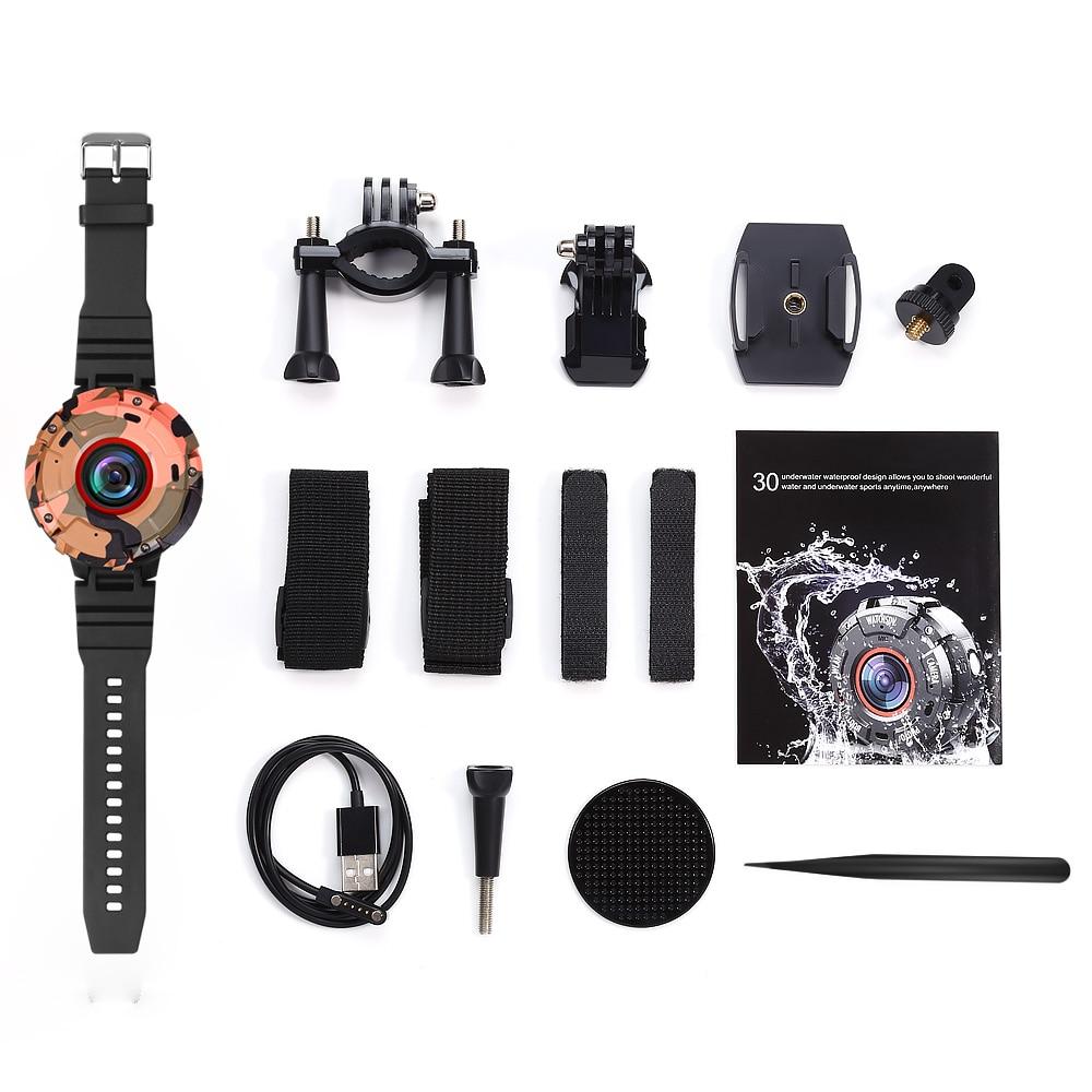 Dashcam WIFI Mini Kamera Für Sport Action DVR Dash Kamera Full HD 30M Wasserdichte Uhr Camara DV Camcorder Wearable auto Kamera