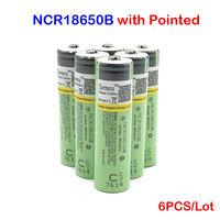 ncr18650b 18650 3400mah battery ncr18650b li ion rechargeable battery ncr 18650b with Pointed no PCB for Turmera