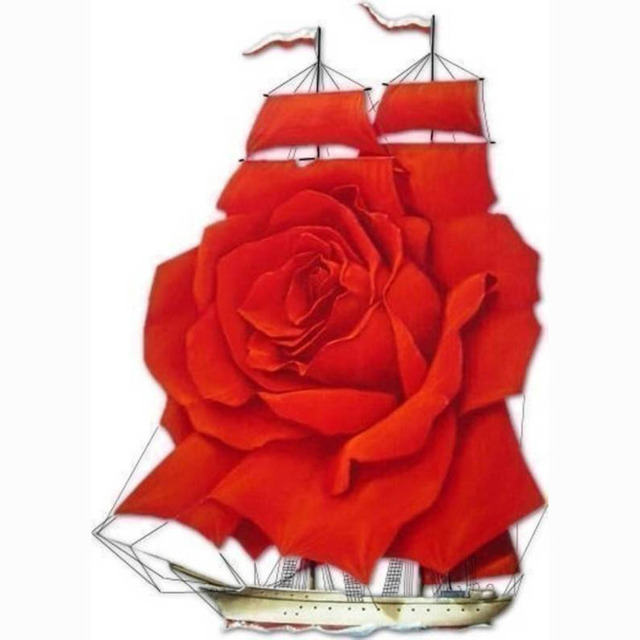 Image result for sailboat with rose images