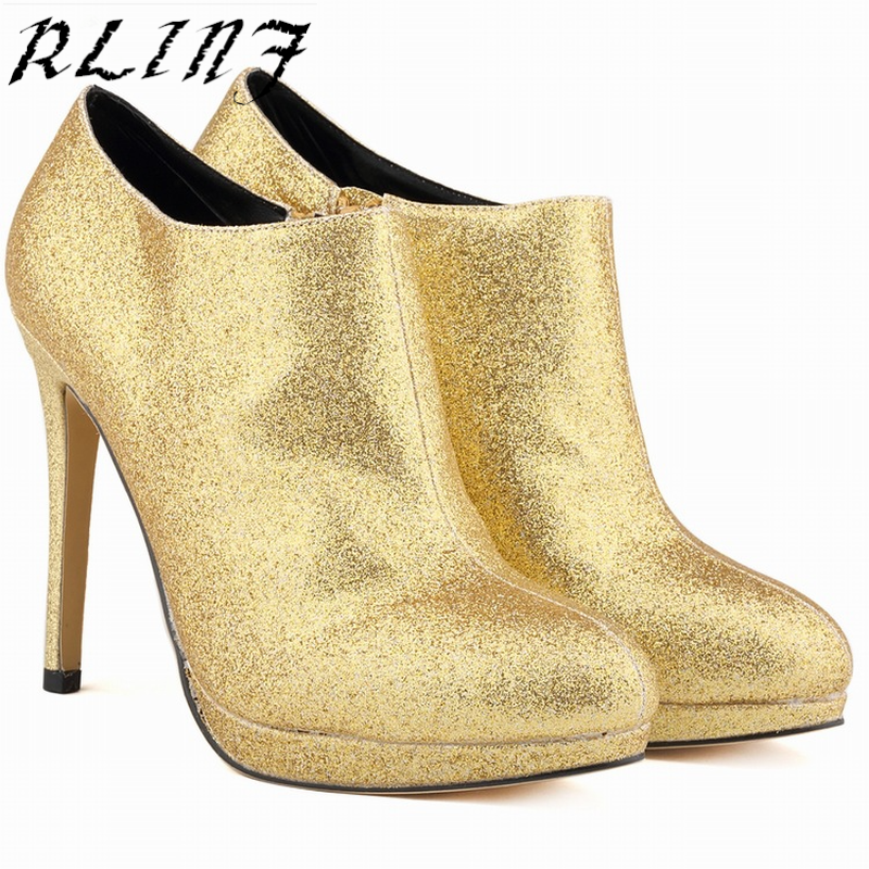 Alto oro De 1 2018 Flash Nueva Negro rojo 35 Fina rosy Tacón Tamaño Con 11 6 Atractiva Rlinf Zapatos Cm gris Red Material Moda Impermeable Plataforma 42 BzZ05wx