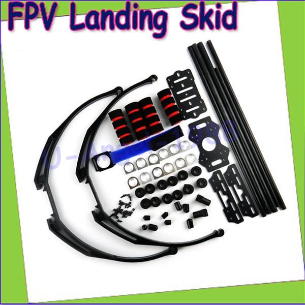 1pcs FPV Anti vibration Multifunction Landing Skid Kit for DJI F450 F550 H3 3D Wholesale Drop