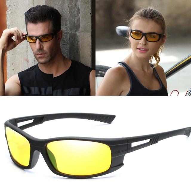 fad5b88d4b Gafas de sol polarizadas 2019 para hombres y mujeres gafas de visión  nocturna para conducir deportes