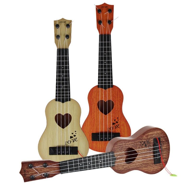 Mini symulacja gitary ukulele instrumenty muzyczne dla dzieci zabawki edukacyjne dla dzieci urodziny prezent na Boże Narodzenie zabawki