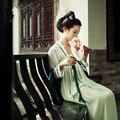 2016 inverno chinês antigo traje de roupas femininas roupas vestes tradicionais bela dança trajes hanfu tang dinastia dress