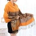 Долгая Зима Шарф Непал Национальный Стиль Хлопок И Лен Кисточкой шаль Шарфы Большой платок Шарфы Мягкие Теплые Твердые Шаль Для женщины