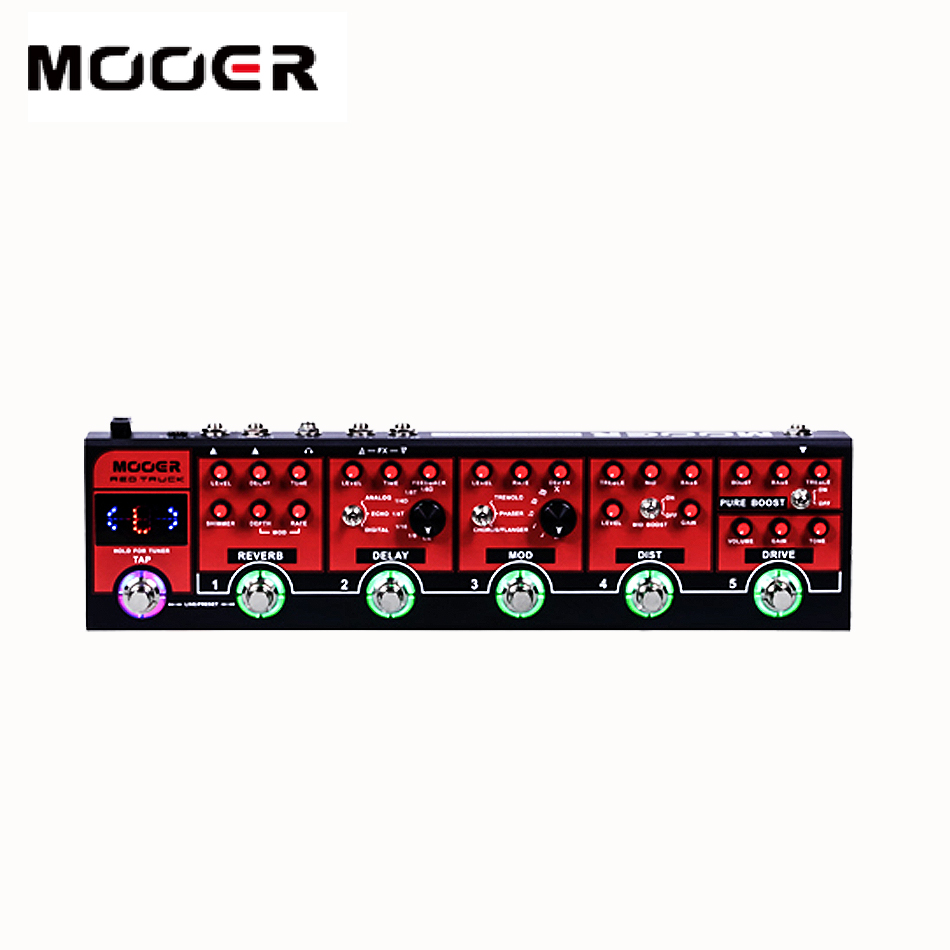 NEW Mooer Red Truck A fully comprehensive collection of high quality digital effects including Modulations, Delays and Reverbs a comprehensive analysis of pakistan s polio eradication program