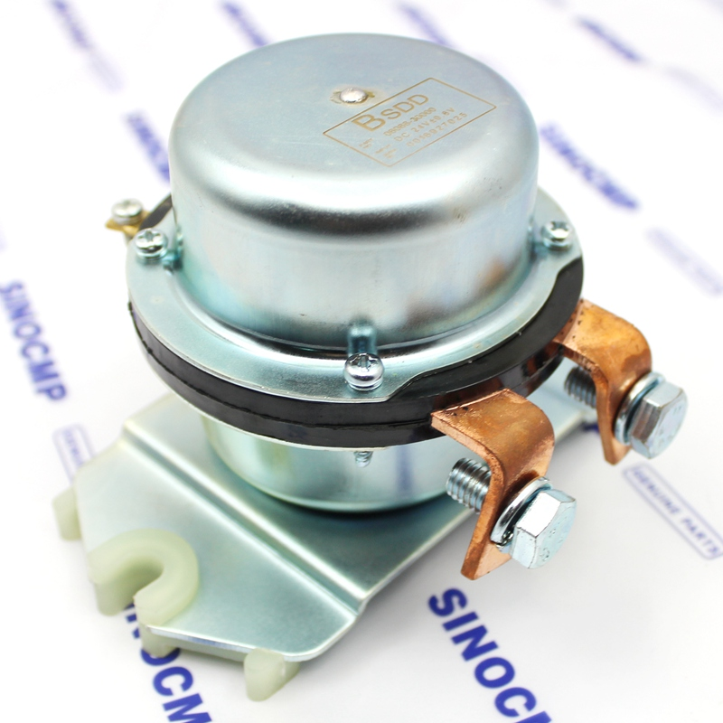 MaySpare Positive Battery Relay Switch 08088-30000 BR-162 BR163 For Hitachi EX60 EX100 EX120 Komatsu Excavator PC88MR PC450 Battery Electromagnetic Disconnect Switch 12VDC