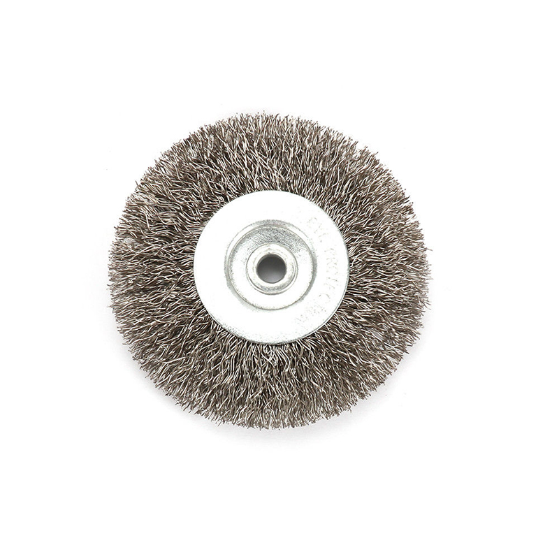 3 Inch 6mm Arbor Stainless Steel Wire Wheel Brush For Bench Grinder Abrasive Mini Drill Rotary Tools Polishing Dremel Brush
