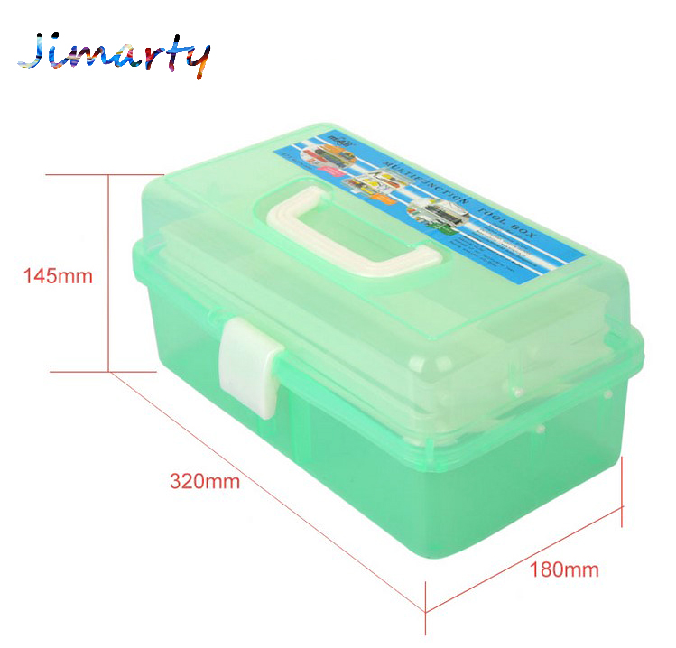 1PC New Clear Rectangle Nail Art Makeup Brush Pen Container holder Tool Case Plastic Stationery Holders Empty Storage Box ACT016 best price mgehr1212 2 slot cutter external grooving tool holder turning tool no insert hot sale brand new
