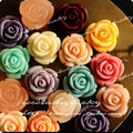 13mm European Resin Flower Cameo pendants,mix colors Resin Flower,resin Flower vintage pendants,DIY resin beads Craft jewelry