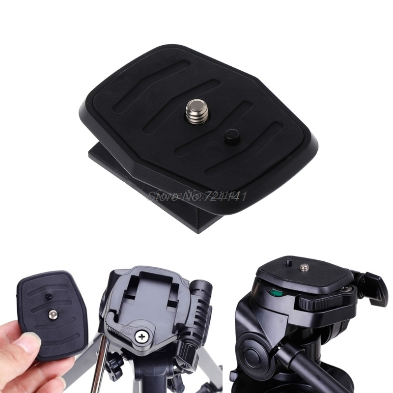 Quick Release Plate Universal QB-4W Tripod Screw Adapter For YUNTENG Velbon Sony Electronics Stocks