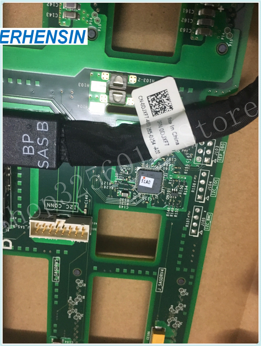 Genuine FOR DELL M05TM SAS 8X3.5'' Backplane for PowerEdge T320 T420 T620 original for dell 0x836m x836m poweredge r510 8 bay sas riser board backplane cn 0x836m fully tested