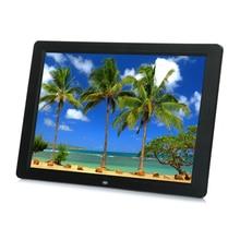 15 Polegada Tela de LCD Retroiluminação LED HD 1280*800 Digital Photo Frame Álbum de Fotos Eletrônico Música De Vídeo Mp3 Mp4 Para O Brasil só