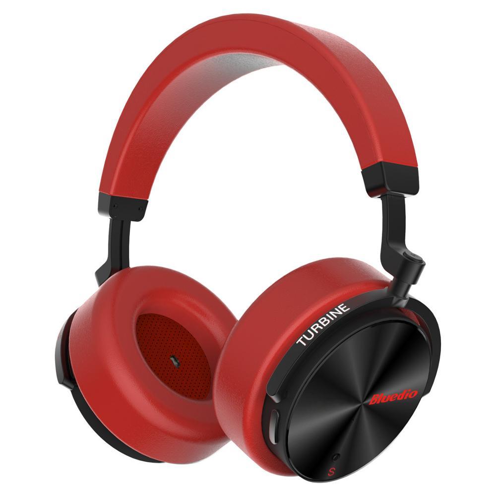 Bluedio T5 HiFi actif suppression de bruit casque sans fil bluetooth sur l'oreille casque avec microphone pour téléphones xiaomi huawei - 4