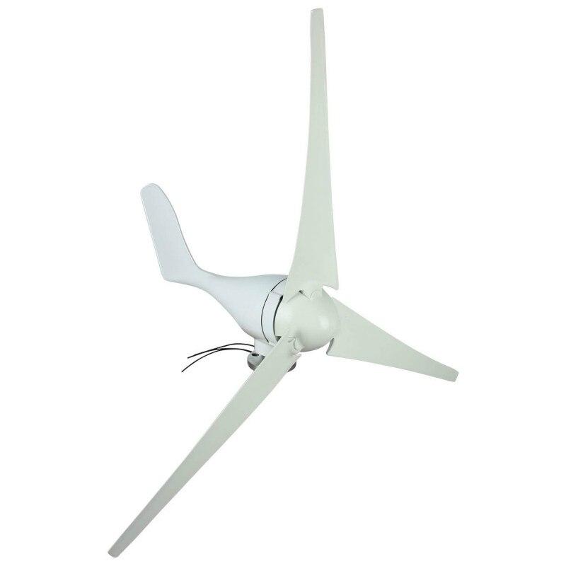 400 W éolienne générateur Vertikal DC 12 V/24 V éolienne générateur 3 lames avec contrôleur Turbina Eolico Kit