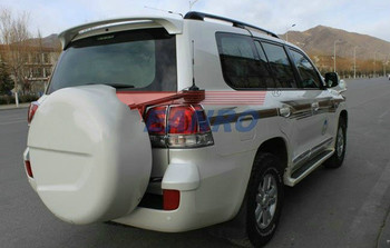 Luz trasera cubierta de la lámpara Trim para Toyota Land Cruiser LC200 FJ200 2008, 2009, 2010, 2011