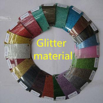 CDG-14 światła zielony kolor Glitter folia winylowa do przenoszenia za pomocą ciepła na bazie PU winylu na T-shirt i inne tkaniny tanie i dobre opinie Papier fotograficzny Rainjet Digital glitter vinyl