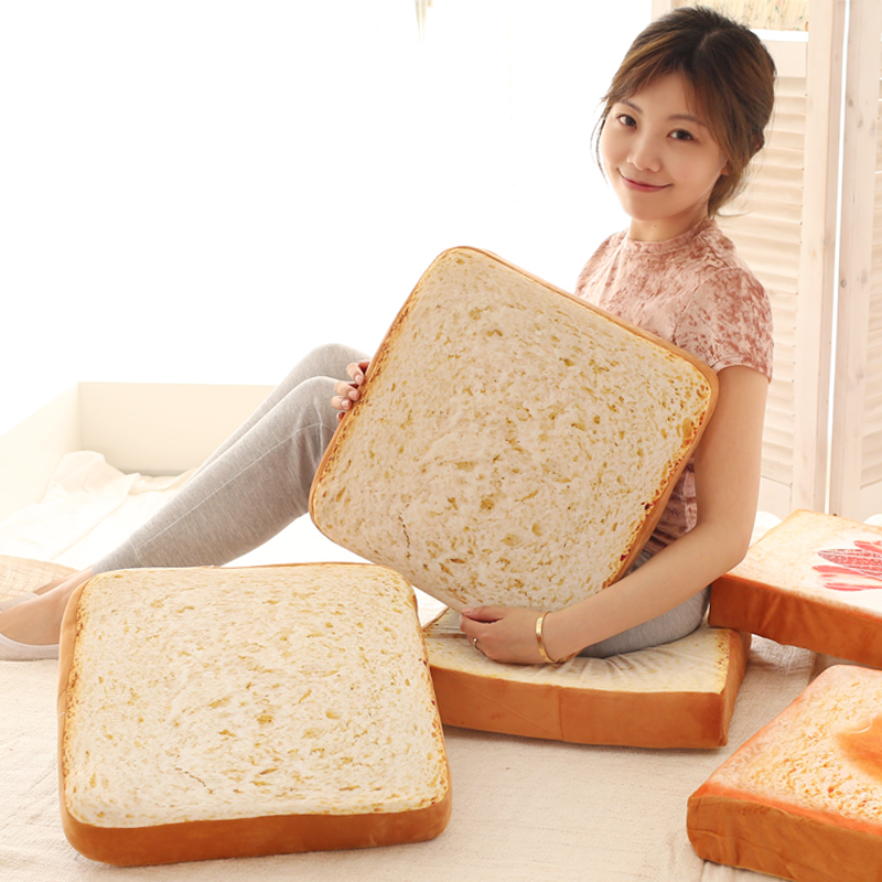 1pc 38cm funny toast slices bread cute cat pet plush hold pillow rest cushion creative children boy cool stuffed toy 1pc 40cm creative plush toast bread pillow toy stuffed bread cushion funny toast bread pillow for pets birthday gift decoration