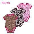 Newborn Short Sleeve Bodysuit Cotton Baby Girls Body  Original Clothing Jumpsuit Bodysuits with Headband Girl Clothes