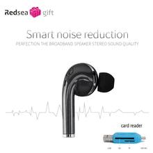 wireless mini Bluetooth headset earbud 4.1 stereo single ear drive new