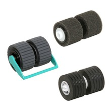Genuine Pick Roller + Brake Roller For Canon DR-X10C 2418B001 (2418B001AA) MF1-4503-000 MG1-4072-000 MA2-9212-000