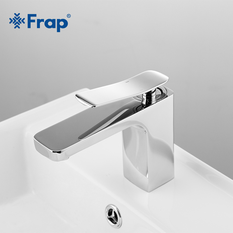 Frap New Silver Chrome Basin Faucet Hot and Cold Water Dual Use Bathroom Faucet Brass Tap Water Saving Single Handle Tap Y10036 все цены