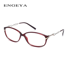 ENGEYA TR90 Glasses Frame Women New Fashion Optical Myopia Brand Designer Eyeglasses Frame Prescription Eyewear With Unique Legs
