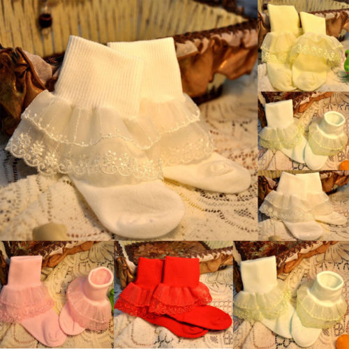 Frillys and lace BABY GIRLS Vest sets with matching socks and headband